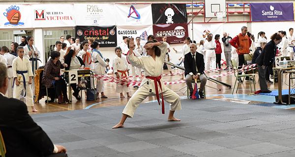 Photo of Máis dun cento de karatekas, no I Memorial José Puente