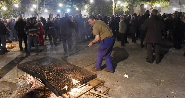 Photo of Castañas asadas e viño novo no magosto de San Martiño, o 11 de novembro en Quiroga