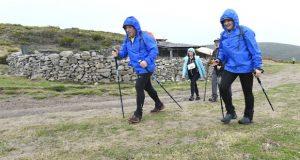 Máis dun cento de participantes na IX Andaina de Manzaneda, III BTT e II Trail