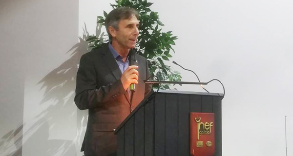 Photo of Isidoro Hornillos, reelixido presidente da Federación Galega de Atletismo