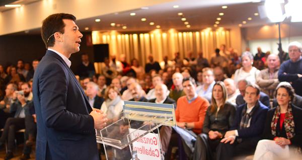 Photo of Gonzalo Caballero, proclamado candidato socialista á presidencia da Xunta