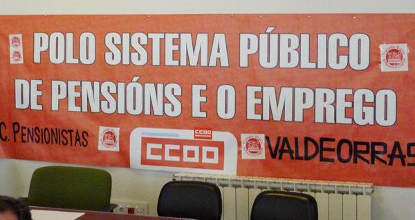 Photo of Asemblea informativa do Colectivo de Pensionistas de Valdeorras o 7 de novembro, no Barco