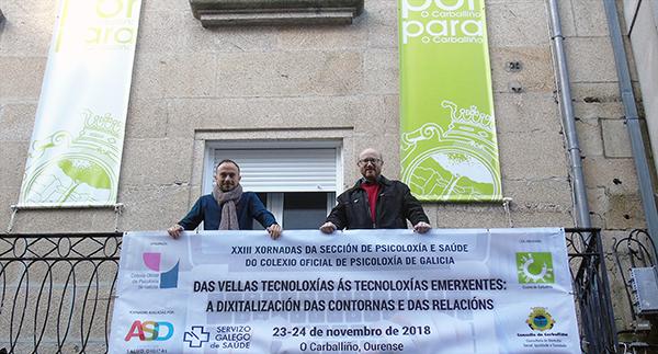 Photo of Un cento de profesionais da psicoloxía reuniranse o 23 e 24 de novembro no Carballiño