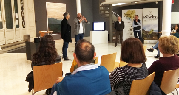 """Photo of Os viños de Loeda e a maxia de Deimi abren a quinta edición de """"Cata a Arte"""""""