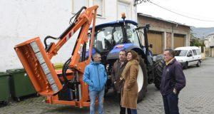Larouco adquire un tractor para a roza co fin de previr incendios forestais