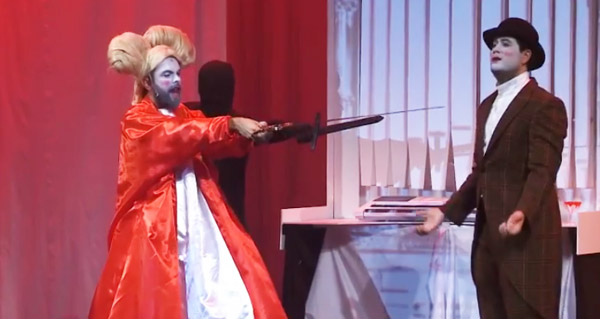 """Photo of Unha versión cómica e en verso de """"Drácula"""" co selo de Abubukaka, no Barco"""