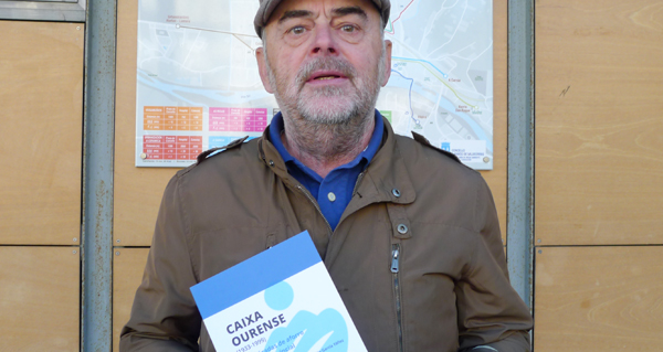 """Photo of Félix García presenta en Ourense o seu libro """"Caixa Ourense (1933-1999). Sete décadas de aforro popular provincial"""""""