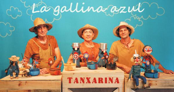 """Photo of Tanxarina presenta a súa """"Galiña azul"""" no Barco"""