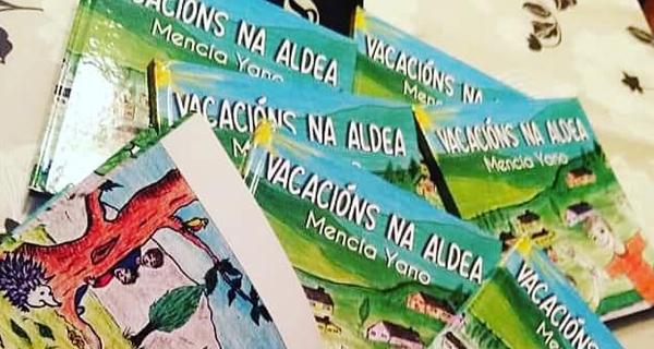 Photo of A valdeorresa Mencía Yano entra na literatura infantil