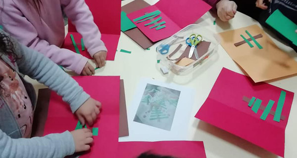 Photo of Obradoiro infantil de manualidades con toque de Nadal, na Biblioteca de Trives