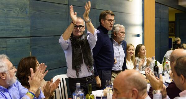 Photo of Feijóo participa no magosto do PP de Ourense