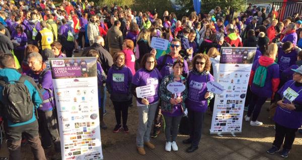 Photo of Máis de 1.100 persoas camiñan e corren contra o cancro de páncreas en Vilamartín