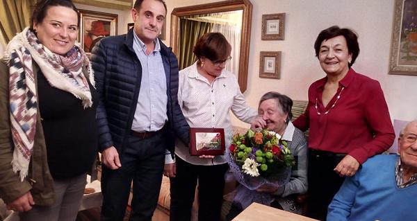 Photo of Parada de Sil conta cunha nova centenaria