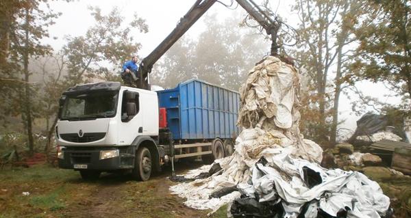 Photo of Recollidos 9.000 quilos de plásticos agrícolas en Sober