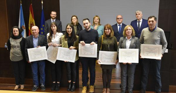 Photo of Entréganse os IV Premios de Investigación do Colexio de Economistas-Facultade de Ciencias Empresariais e Turismo de Ourense