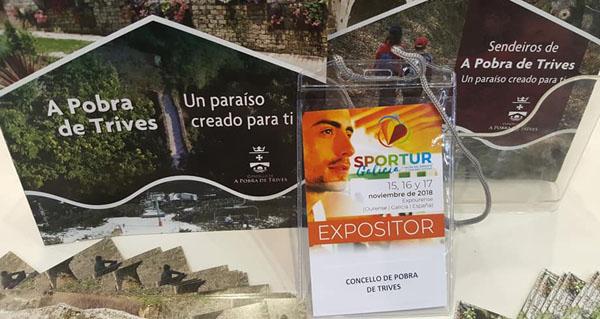 Photo of Trives promociónase como destino deportivo e de turismo activo en Sportur