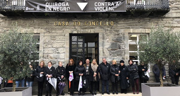 Photo of Conmemoración do Día contra a Violencia de Xénero en Quiroga
