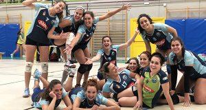 Quinta vitoria consecutiva para o Aceites Abril Ourense de voleibol