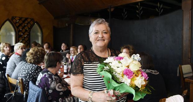 Photo of Xantar de homenaxe e despedida a Conchi Belmonte, auxiliar de enfermería durante 27 anos no HCV