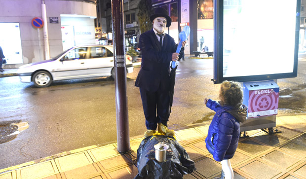 Photo of A arte do mimo, nas rúas do Barco