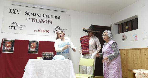 Photo of Dúas comedias e doces para celebrar o Nadal en Vilanova (O Barco)