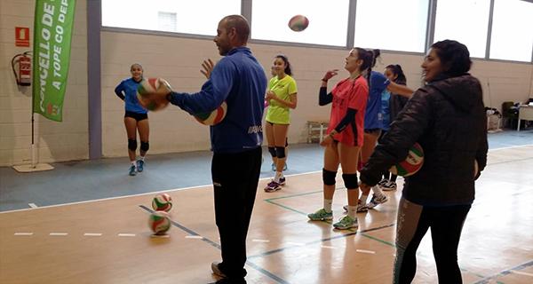 Photo of Nova concentración da Federación Galega de Voleibol en Quiroga