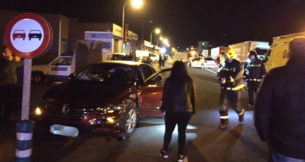 Photo of Accidente de tráfico con tres feridos no Barco