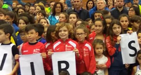 Photo of Vitoria para o Adas en benxamín e alevín masculino nunha fase final da Liga Abanca con case 800 atletas