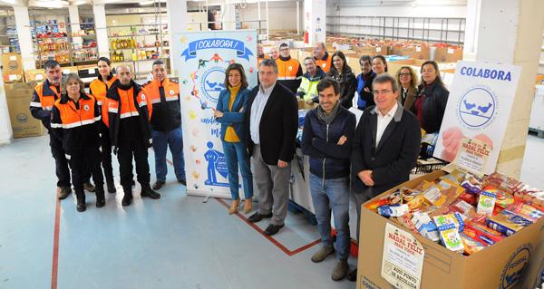 Photo of Campaña solidaria de recollida de alimentos nas sedes das xefaturas territoriais da Xunta en Ourense