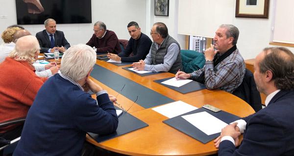 Photo of Os alcaldes do Barco e Monforte dan conta da reunión mantida en Fomento na comisión da seguemento da A-76