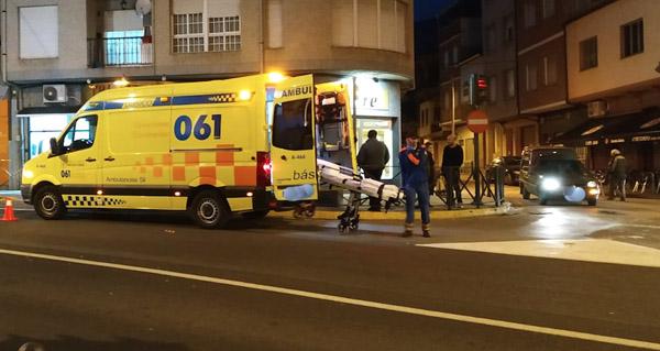 Photo of Un mozo resulta atropelado no centro da Rúa