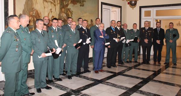 Photo of Un garda civil do Subsector de Tráfico de Valdeorras recibe unha conderación á Orde do Mérito Civil