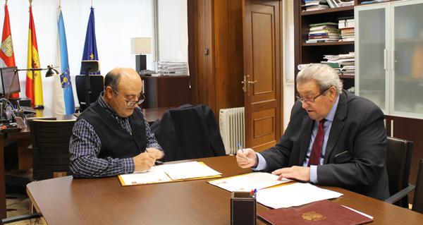 """Photo of Asínase o convenio entre CHMS e o Concello de Cortegada para a execución do proxecto """"Raia Termal"""""""
