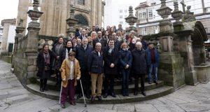 Reunión das asociacións de amigos do Camiño de Santiago de Galicia co conselleiro de Cultura