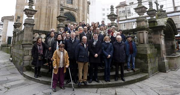 Photo of Reunión das asociacións de amigos do Camiño de Santiago de Galicia co conselleiro de Cultura