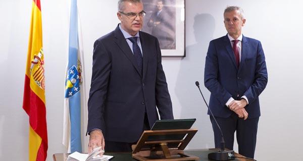 Photo of Santiago Villanueva, novo director xeral de Emerxencias e Interior