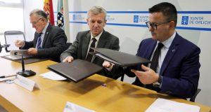 Fegamp e Xunta renovan o convenio para manter o funcionamento dos GES