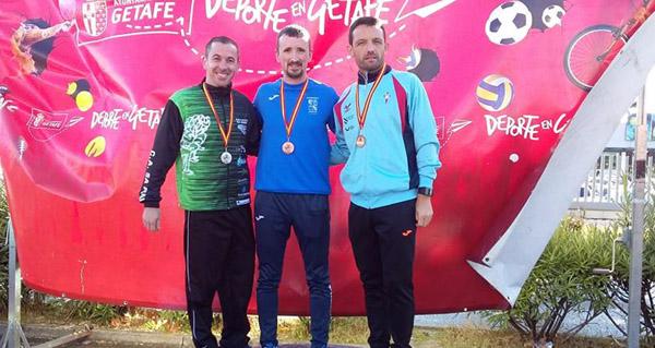 Photo of Bronce para o barquense José Fernández Nieves no campionato de España de marcha en ruta máster