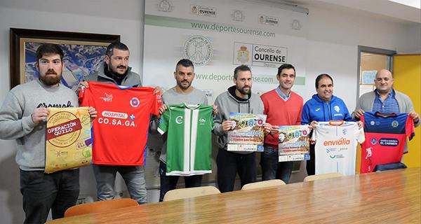 Photo of Os equipos de fútbol sala e fútbol de Ourense únense nun partido solidario no Pavillón dos Remedios