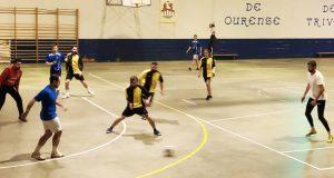 Un equipo de Montederramo, un de Manzaneda e dous de Trives, nas semifinais da II Gran Festa do Fútbol no pavillón trivés