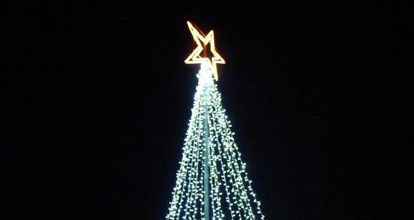 Photo of A luz do Nadal, en Petín
