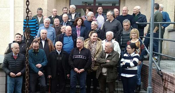 Photo of Xuntanza anual da Corporación de Quiroga cos pedáneos do municipio