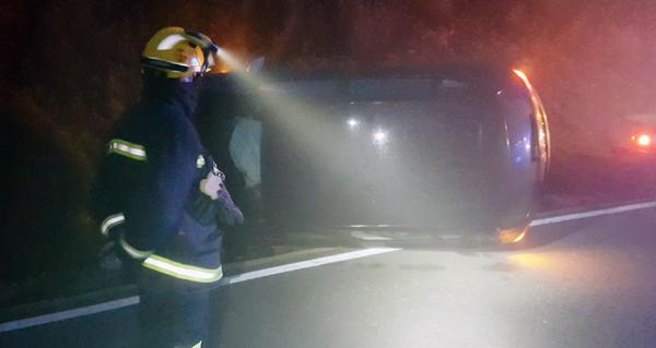 Photo of Accidente de tráfico cun ferido en Santigoso (O Barco)