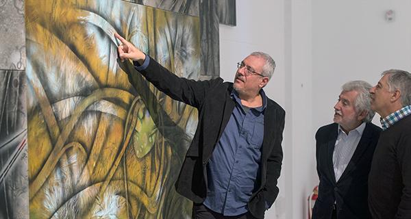 Photo of O artista Alberto Pena expón no Centro Cultural Marcos Valcárcel de Ourense