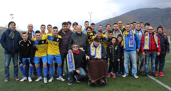 Photo of Acto de recoñecemento do C.D. Rúa aos presidentes do club