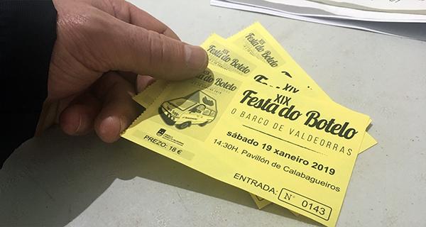 Photo of 1.125 entradas para a XIX Festa do Botelo, vendidas en menos de hora e media