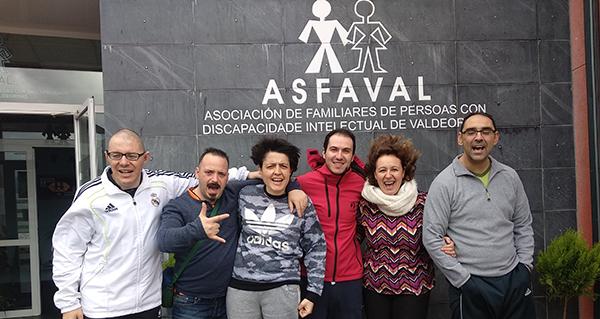 Photo of Deporte e inclusión social da man de Tres Lunas Valdeorras e Asfaval