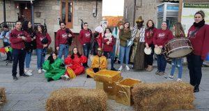 Festa de Reis en Castro Caldelas ao ritmo da música tradicional