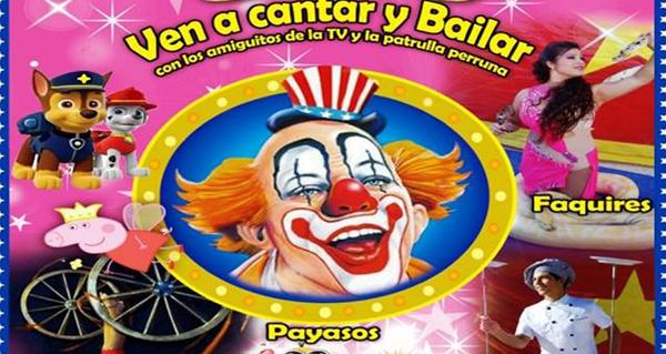 Photo of O circo chega ao Auditorio Julio Vázquez de Trives