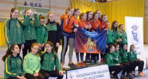 Catro metais para o Ourense Atletismo no galego de cross Sub16 e Sub18, celebrado na Rúa